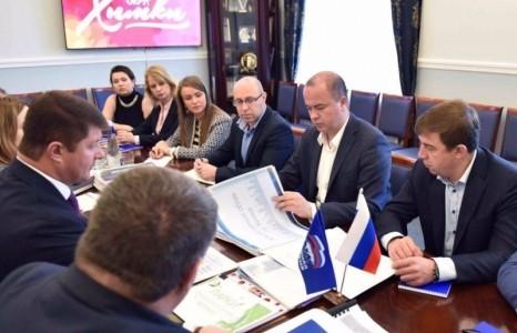Руководство Истринского района побывало в Химках с рабочим визитом