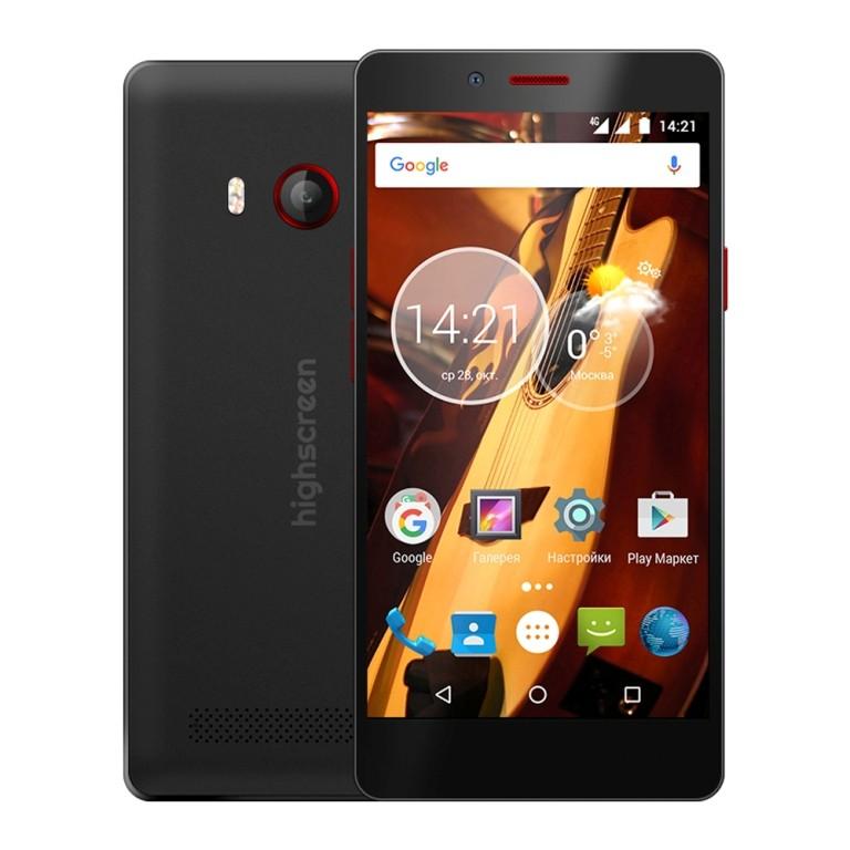 Стартовали продажи смартфонов Highscreen Boost 3SE и Highscreen Thunder