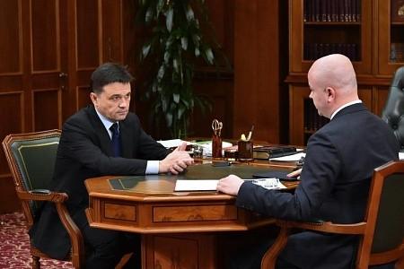 Глава Истры Дунаев отчитался по губернаторским поручениям