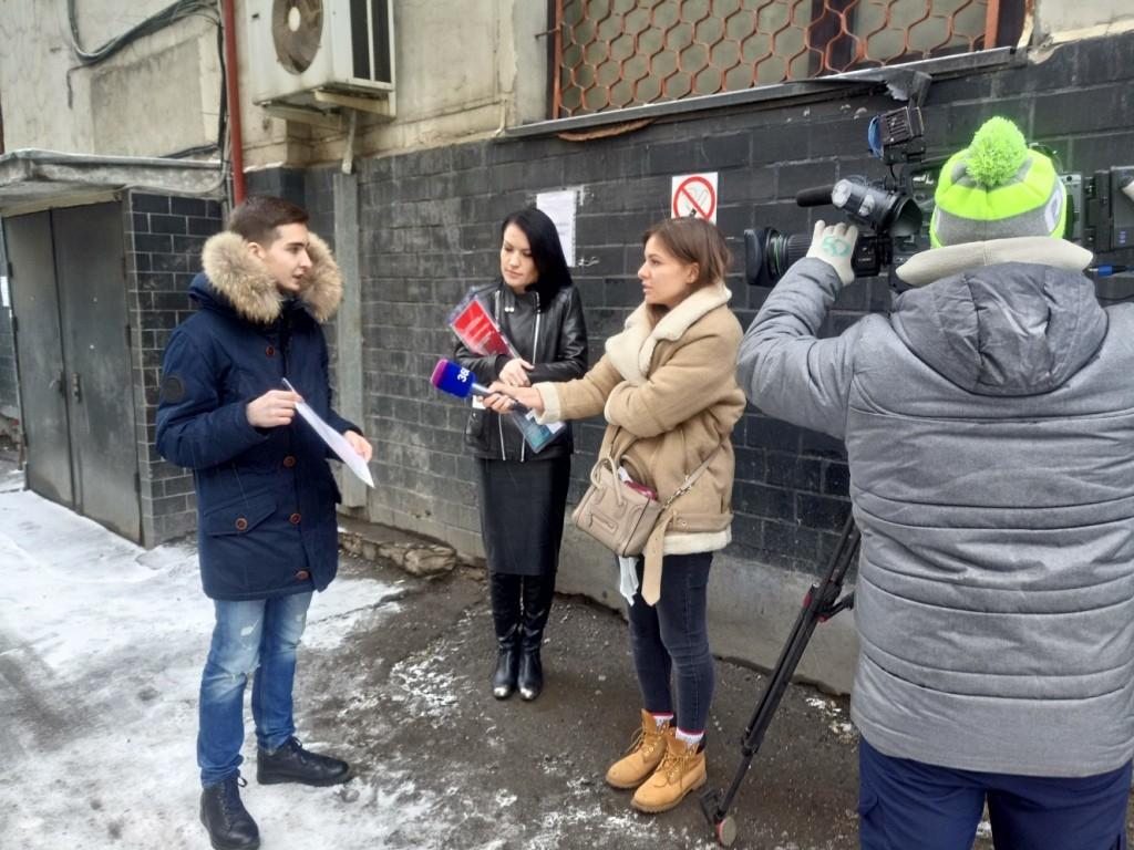 Анну Калашникову судят в Савеловском суде города Москвы