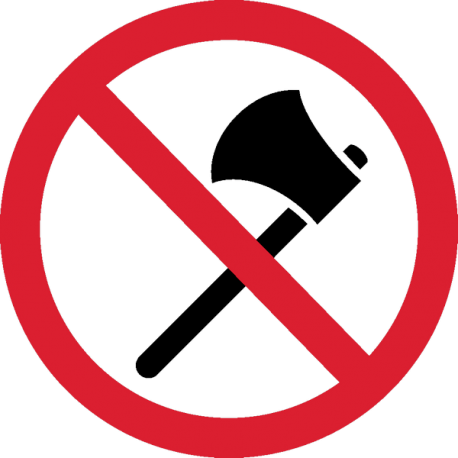 Пользователи Рунета призывают признать топоры холодным оружием