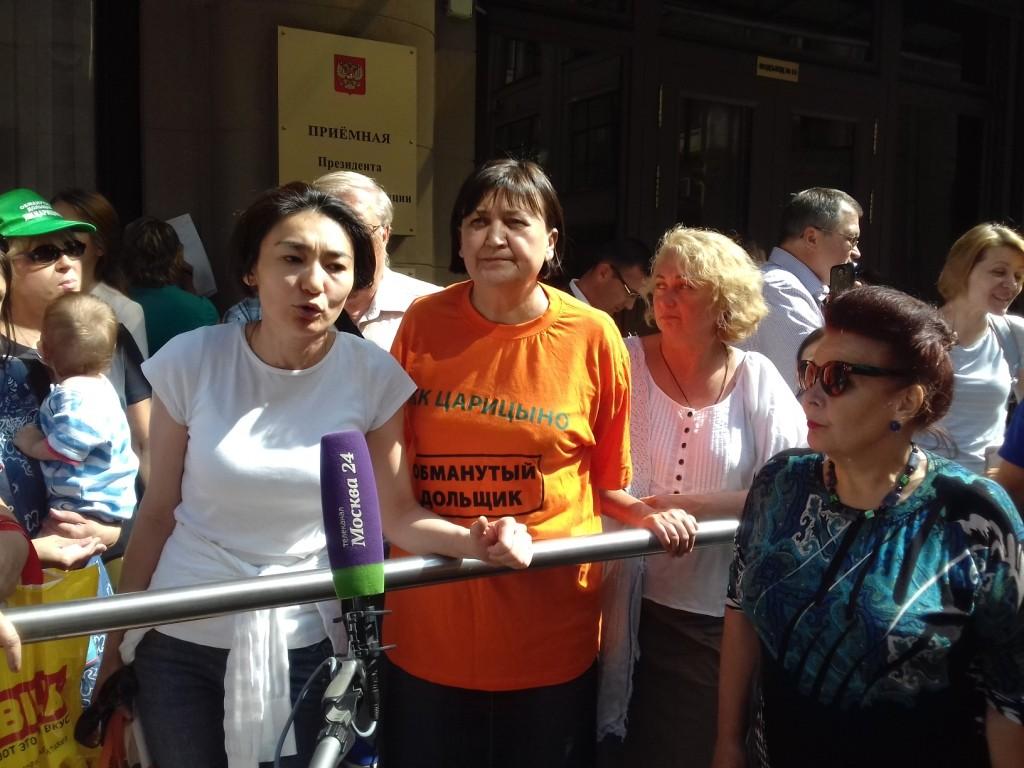 Дольщики ЖК «Царицыно» больше не рассчитывают на помощь Правительства