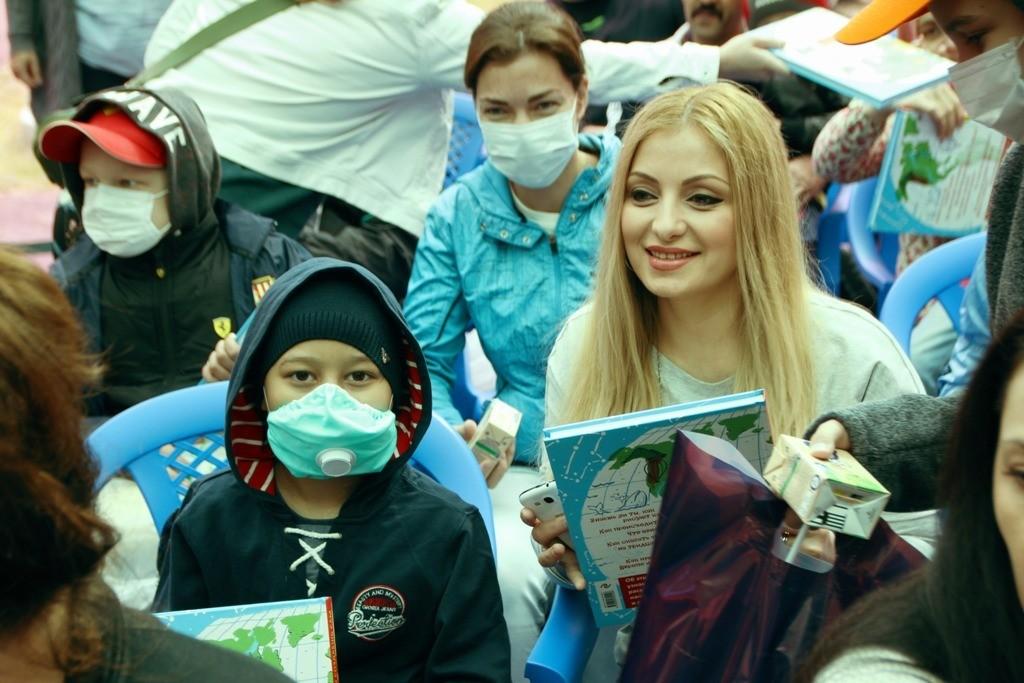 Маленькие пациенты онкобольницы поучаствовали в празднике День знаний
