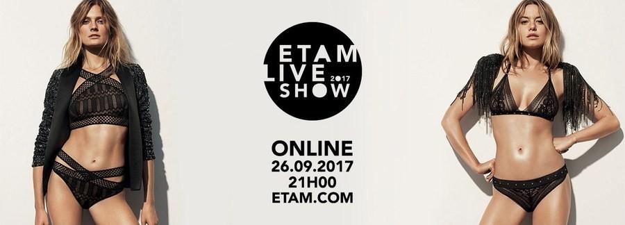 Десятилетие «живого» шоу Etam отметит показом на Парижской неделе моды