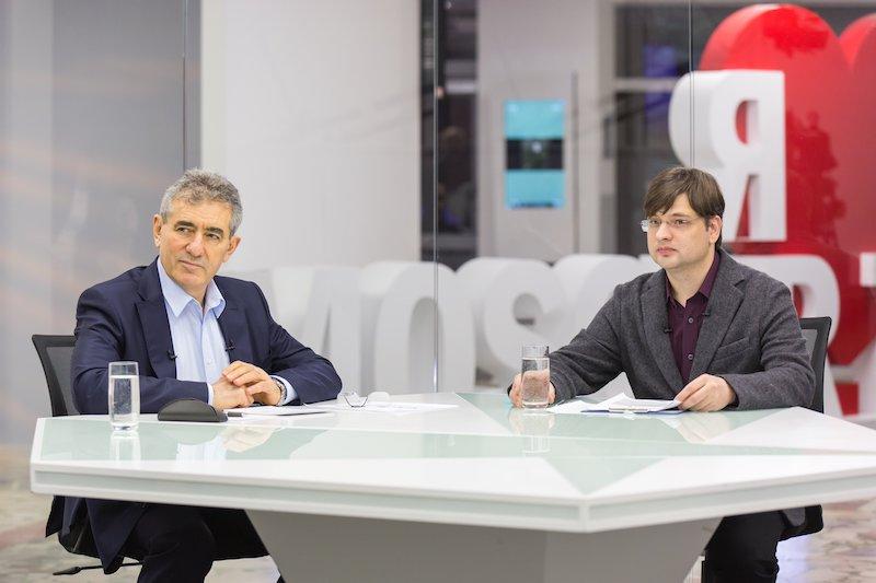 Исаак Калина во время прямого телеэфира назначил учителя советником Департамента образования Москвы