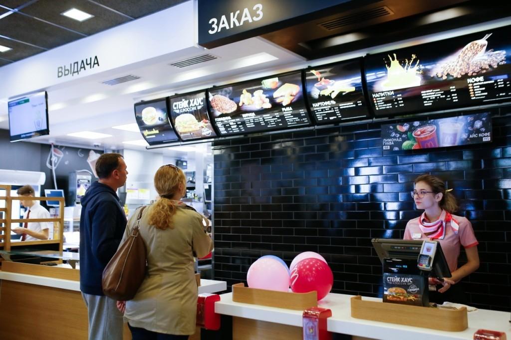«Макдоналдс» поделился со СМИ результатами работы в России