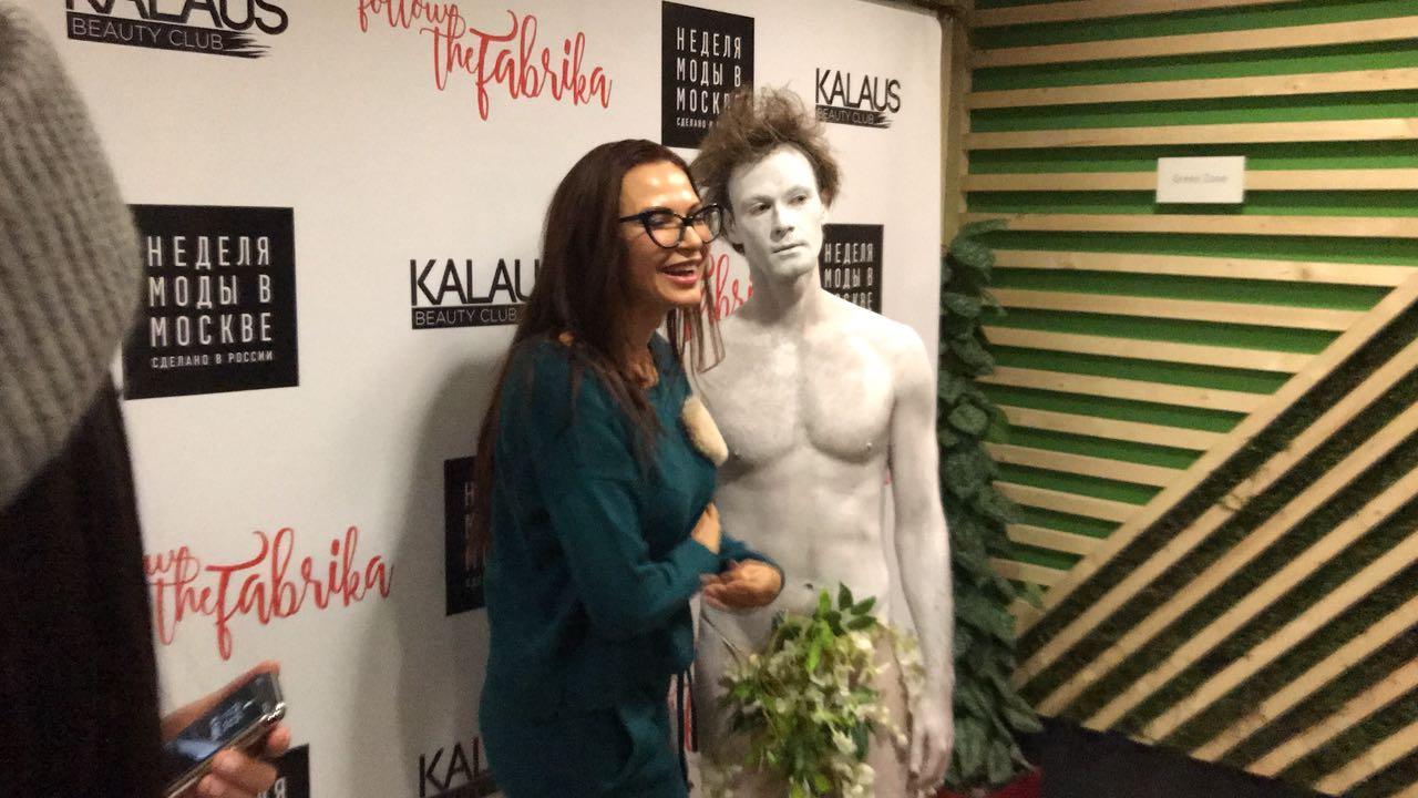 Эвелина Бледанс и голый Давид посетили показ мод Follow The Fabrica