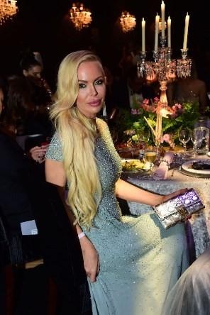 Алиса Лобанова на гала - ужине Amfar
