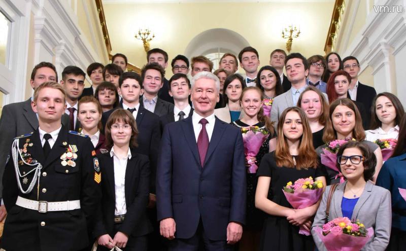 В столице состоялась церемония чествования победителей Всероссийской олимпиады школьников