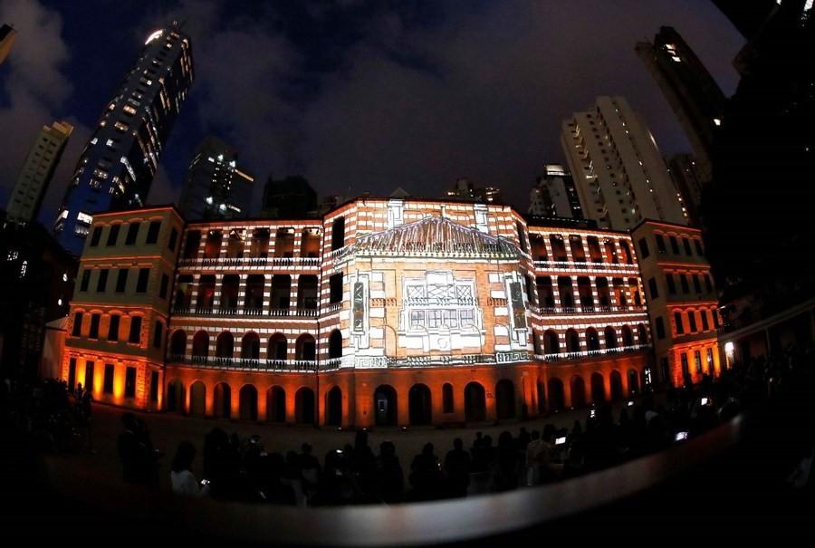 В Гонконге под центр искусств передали историческое здание полицейского управления