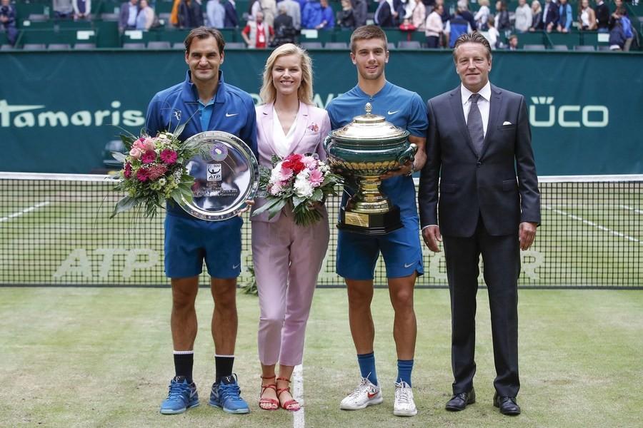С успехом завершен 26-й теннисный турнир GERRY WEBER OPEN 2018