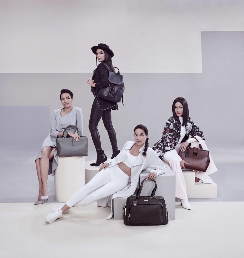Розарио Доусон стала лицом новой рекламной кампании TUMI