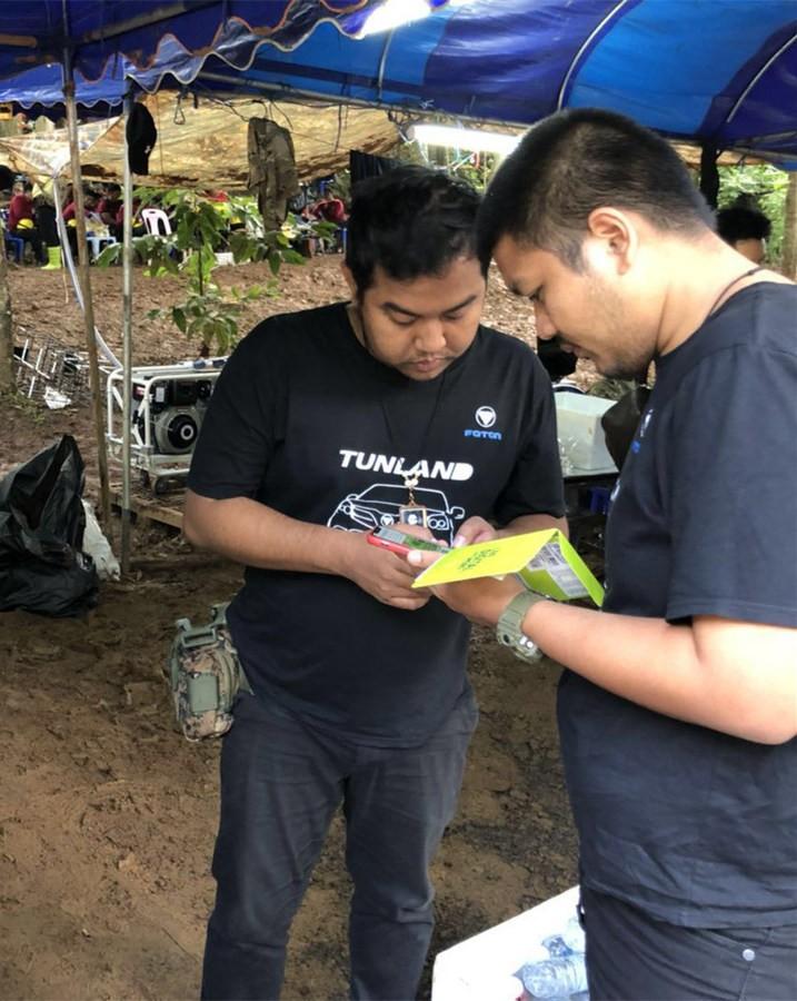В спасательной операции в тайском Чианграе приняла участие компания Foton Motor