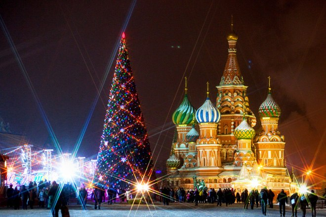 Москва в числе 10 городов мира, где лучше всего отмечать Рождество