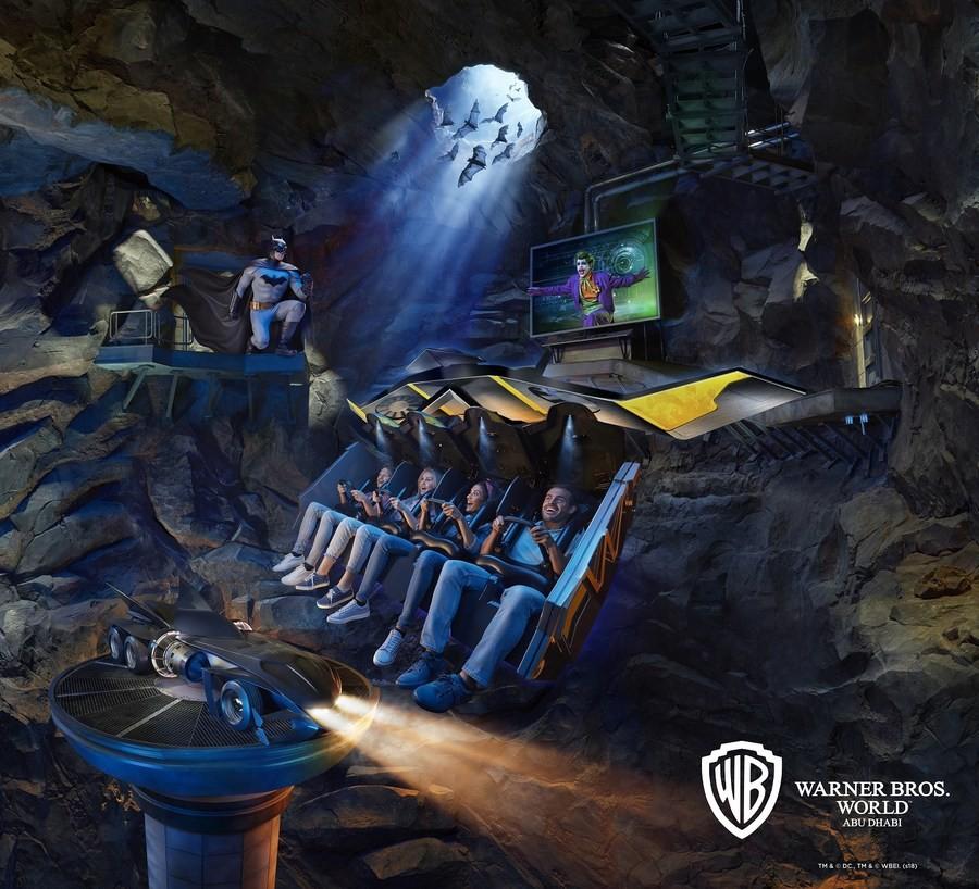 В парке Warner Bros. World (TM) Abu Dhabi открылся аттракцион Batman: Knight Flight