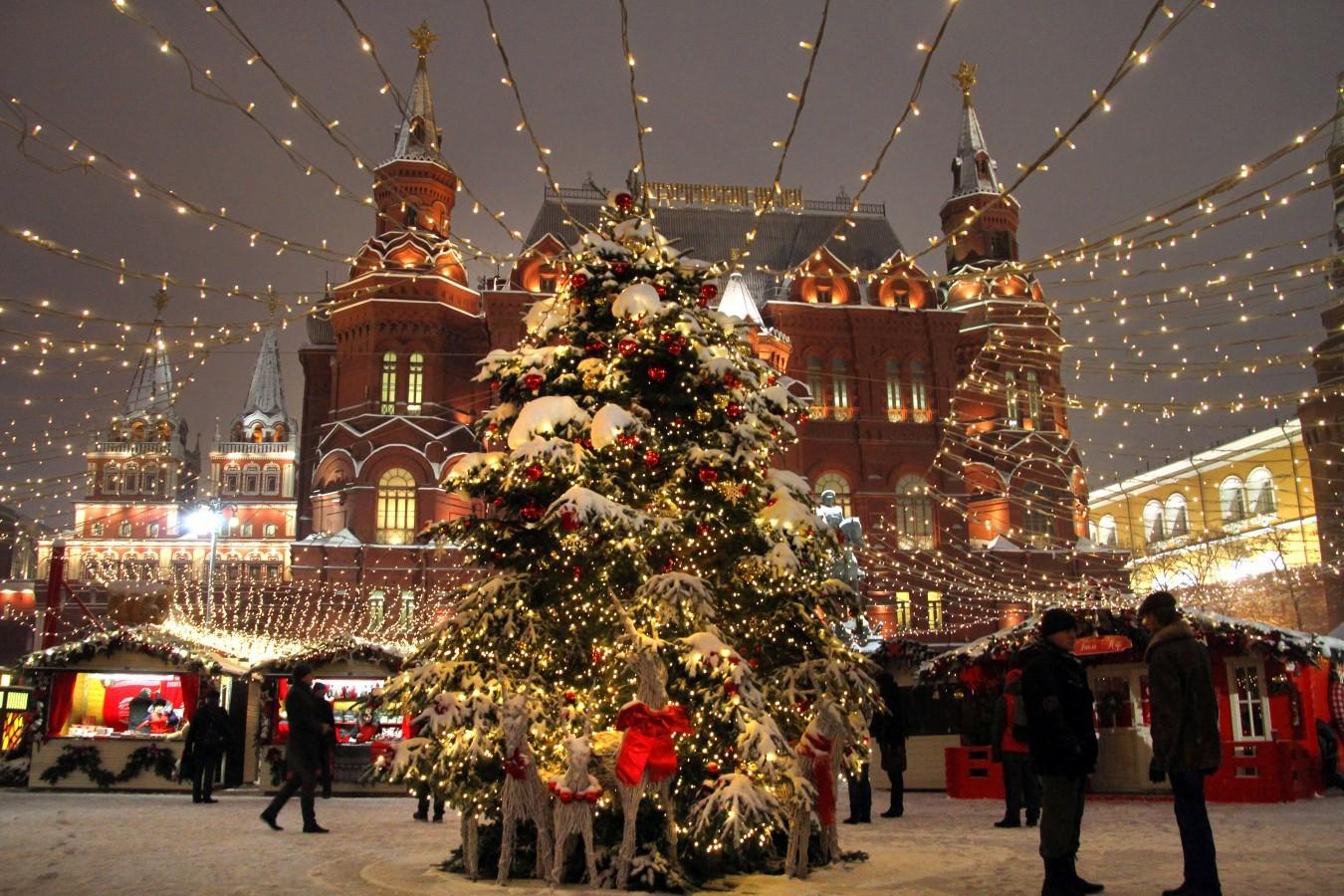 Мэр Москвы Сергей Собянин рассказал о проведении крупнейшего в Европе фестиваля «Путешествие в Рождество»