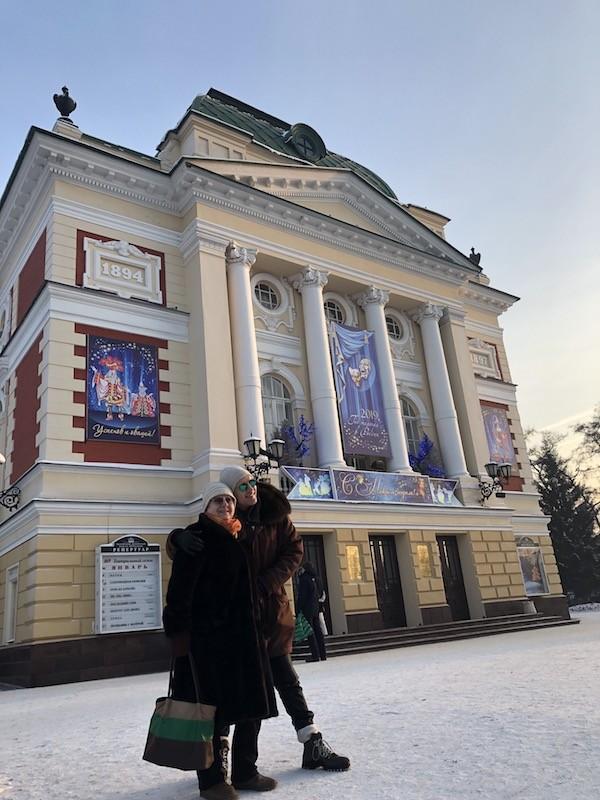 Андрей Григорьев-Апполонов рассказал о выходных на Байкале