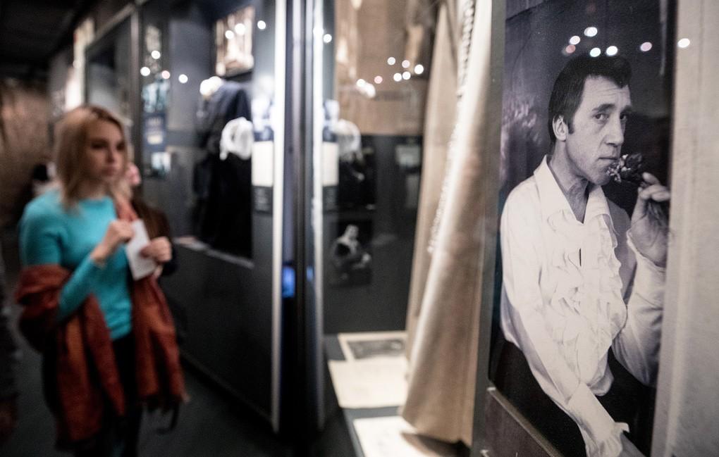 В Москве провели реэкспозицию в Государственном Музее Владимира Высоцкого