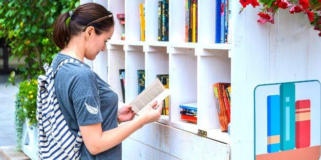 В 12 зонах отдыха в столице откроют летние читальни
