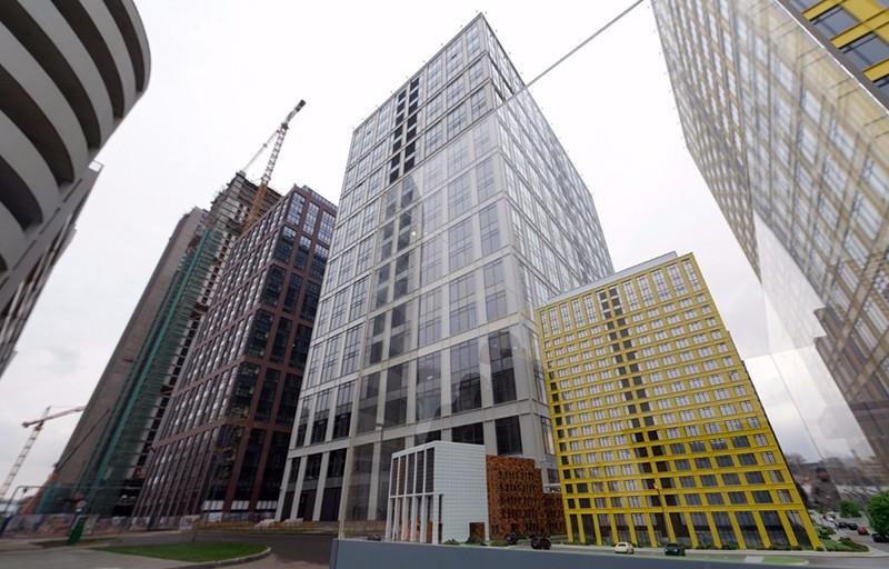 Инвесторы за первое полугодие арендовали в Москве 82000 кв.м недвижимости