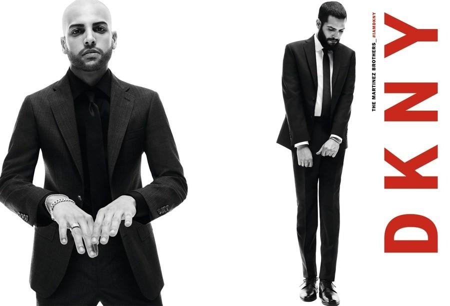 Лицом новой кампании DKNY стали нью-йоркцы Холзи и The Martinez Brothers