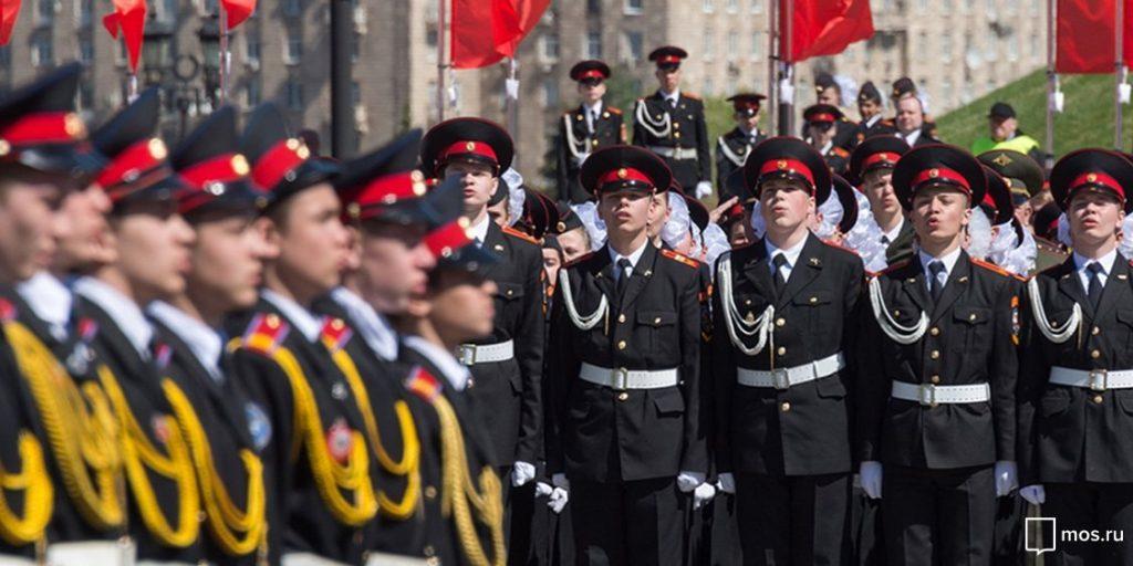 Более 10000 московских кадет станут участниками торжественной линейки 1 сентября