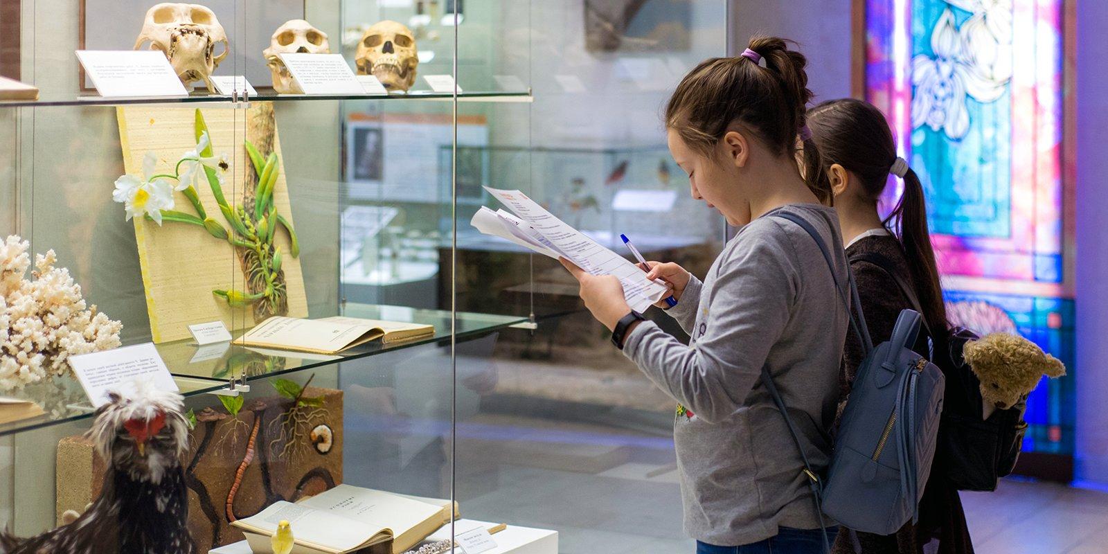 В 2019 году столичные школьники на бесплатной основе посетили музеи 294 757 раз