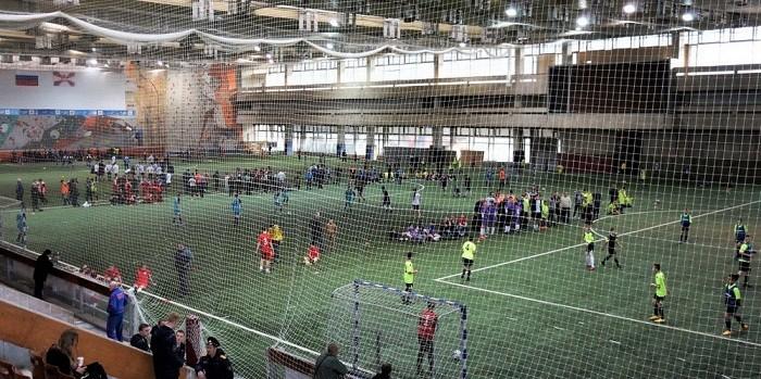 Праздничное выступление танцевальных коллективов ЦК «Хорошевский» завершило футбольный турнир в Москве