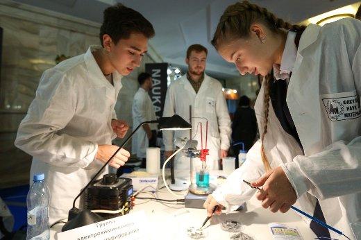 Столица приняла IX Всероссийский фестиваль науки NAUKA 0+