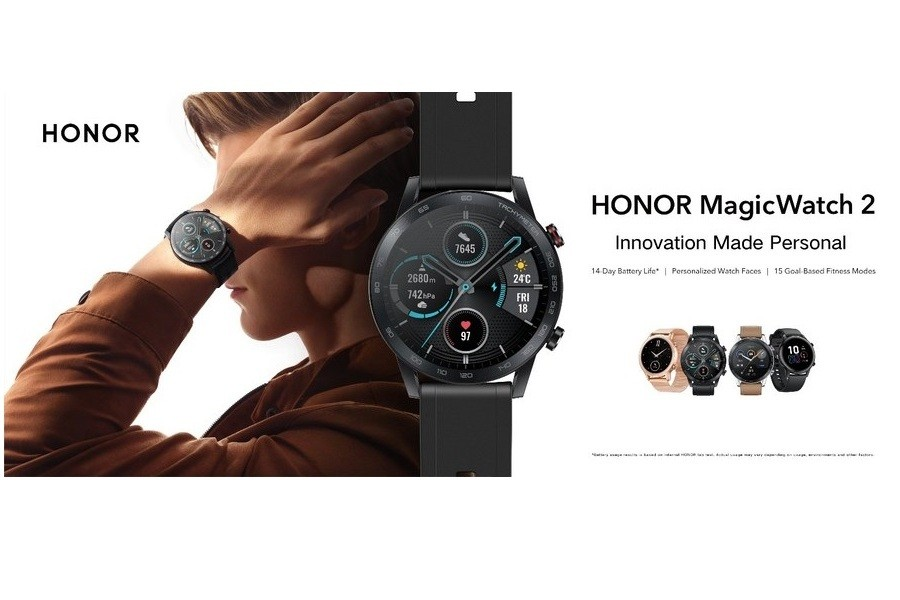 HONOR официально презентовал гаджет HONOR Magic Watch 2