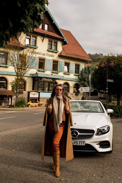 На актрису Кристу Бойцову напало приведение в Баден-Бадене