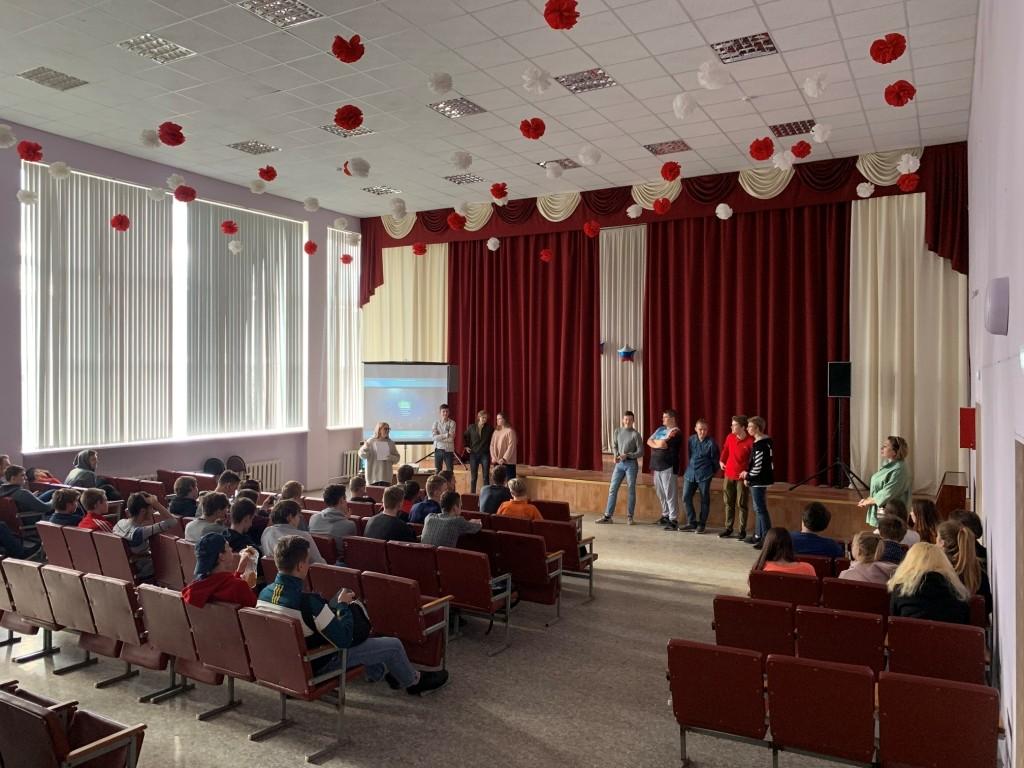 В Московской области талантливая молодежь приняла участие в проекте «Великие»