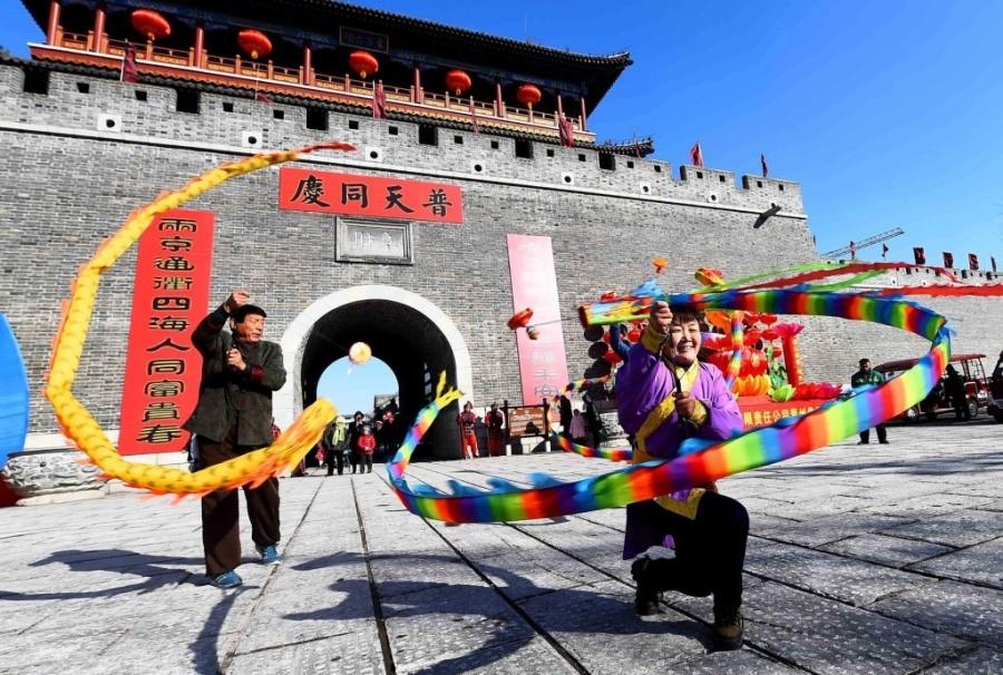 Вэйфанский фестиваль культуры-2020 дал старт Месяцу новогодних традиций
