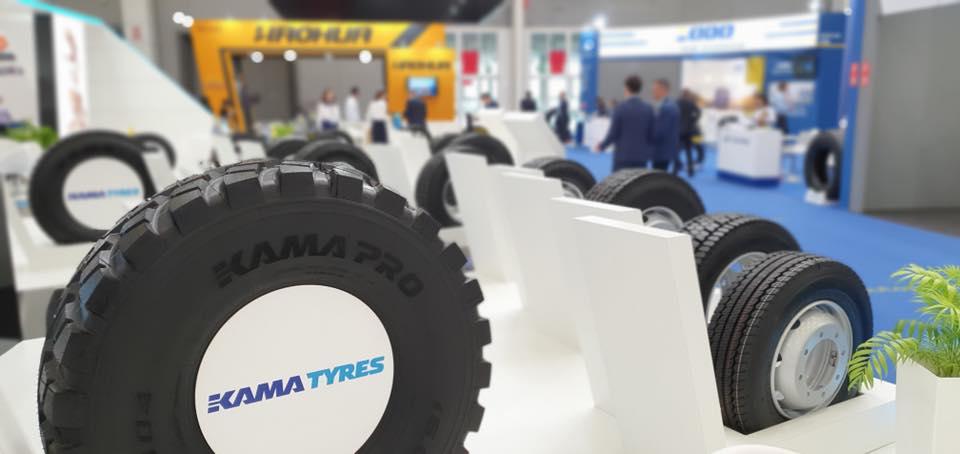 KAMA PRO NF 203 предназначена для рулевой оси грузового транспорта