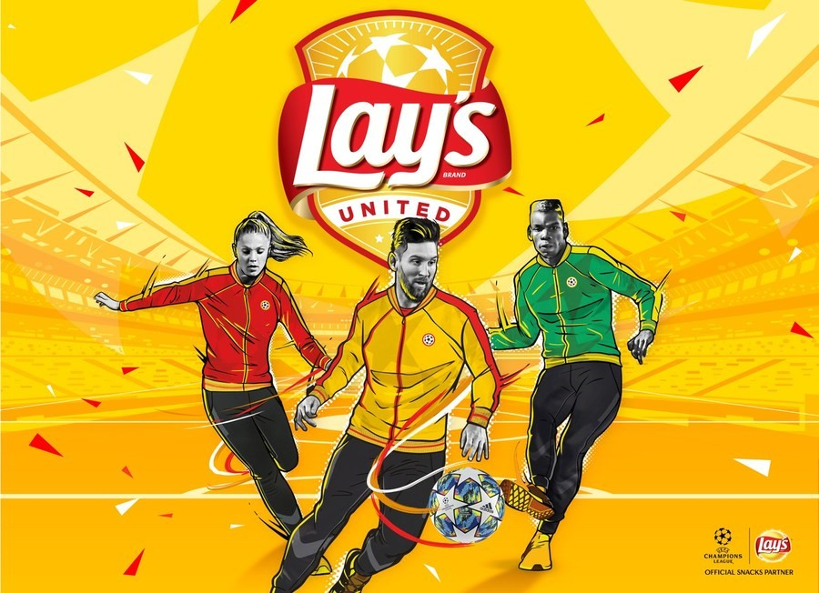 Лионель Месси, Поль Погба и Лике Мартенс выступили в рекламе чипсов Lay's