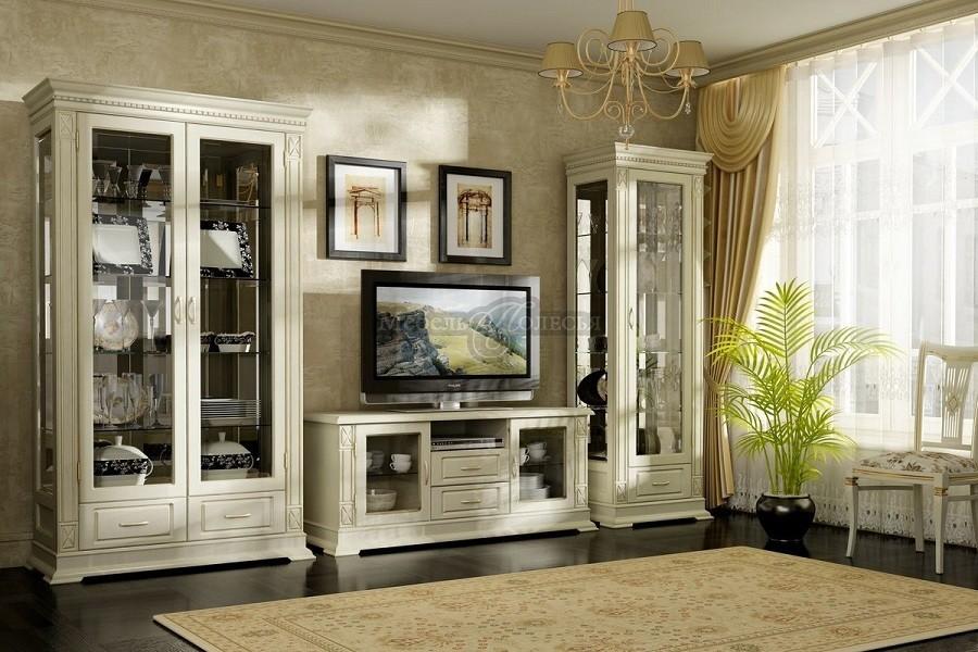 Деревянная мебель для гостиных
