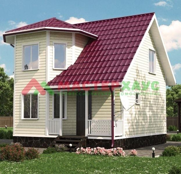 Деревянный дом от Мастер Хаус - лучшее решение для Вашей семьи