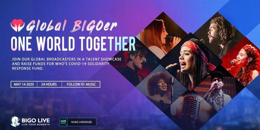 """Акцию по сбору средств """"Global BIG Oer One World Together"""" инициировала Bigo Live"""