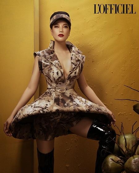 L'Officiel Russia знакомит читателей с вьетнамской актрисой Чыонг Нгок Ань