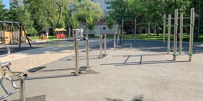 Наталья Сергунина рассказала, в каких парках Москвы оборудованы спортивные площадки