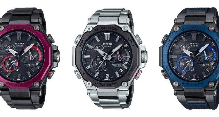 Casio выпустит новые противоударные часы серии MT-G