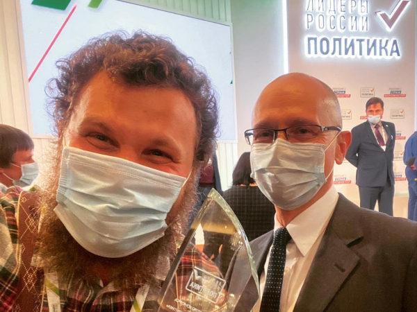 Олег Сирота после победы в конкурсе «Лидеры России» намерен эффективнее решать проблемы фермеров