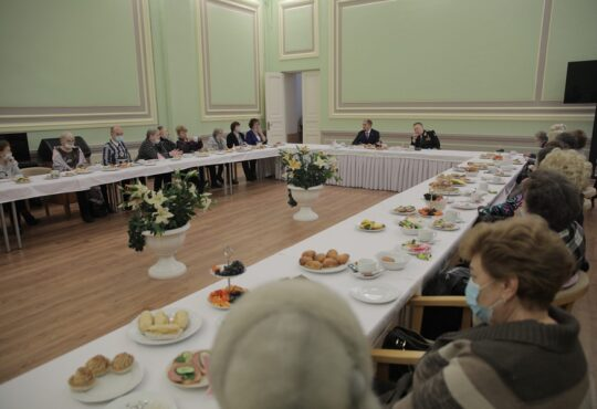 Михаил Романов провел встречу с руководством и активом Совета ветеранов Фрунзенского района Санкт-Петербурга