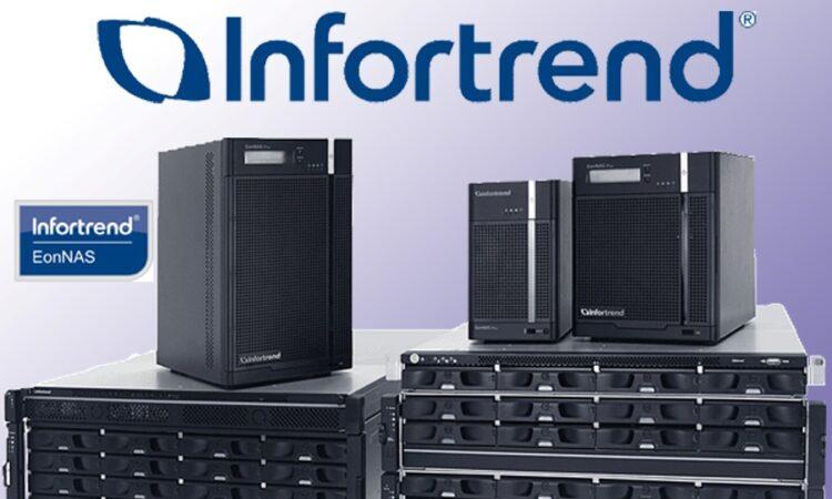 Infortrend предложила индустрии медиа и развлечений NAS-системы EonStor CS с SSD-кэшем
