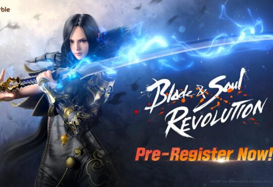Стартовала предварительная регистрация на загрузку игры Blade&Soul Revolution