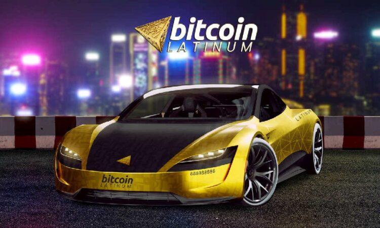 Bitcoin Latinum запускает глобальную раздачу специального выпуска Tesla Roadster
