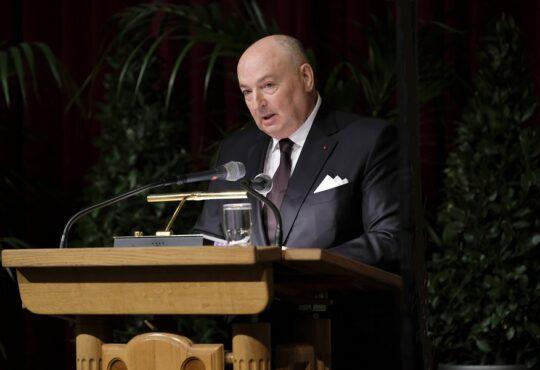 Президент ЕЕК Вячеслав Моше Кантор поздравил президента Государства Израиль Ицхака Герцога со вступлением в должность