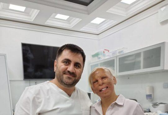 Стоматолог-ортопед Вартан Саркисян бесплатно делает протезирование премиум-класса пациентке с ожогами