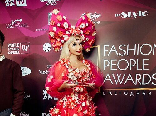 Таня Тузова заслужила стать обладательницей престижной премии Fashion People Awards 2021