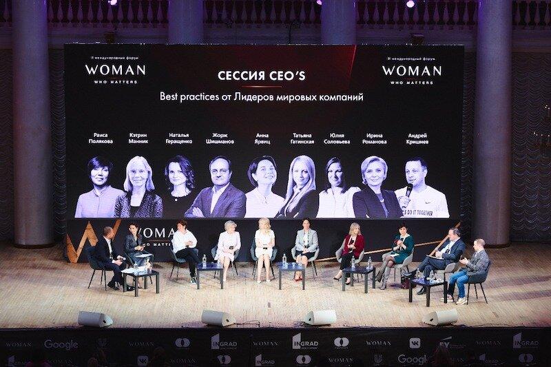 Международный форум «Woman who matters» прошел в Москве